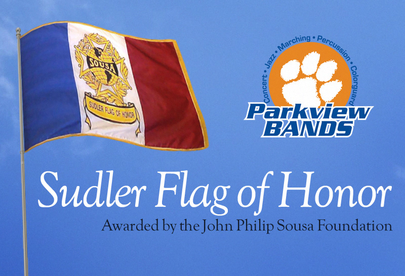 Sudler Flag of Honor Parview High School Band